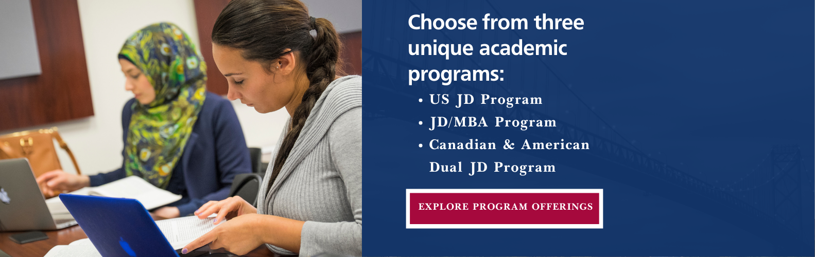learn about academic programs