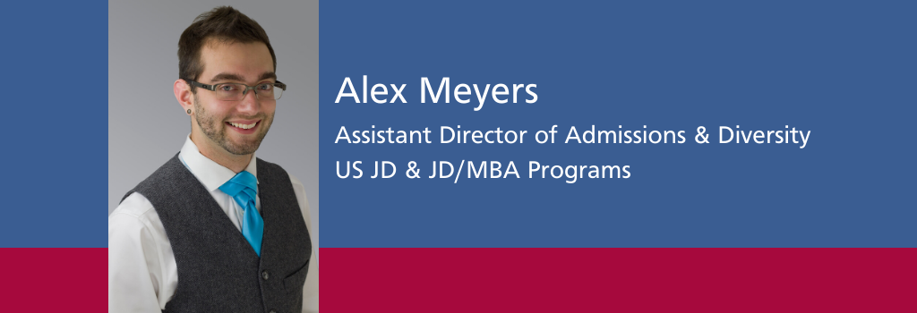 Alex Meyers, Assistant Director of Admissions & Diversity