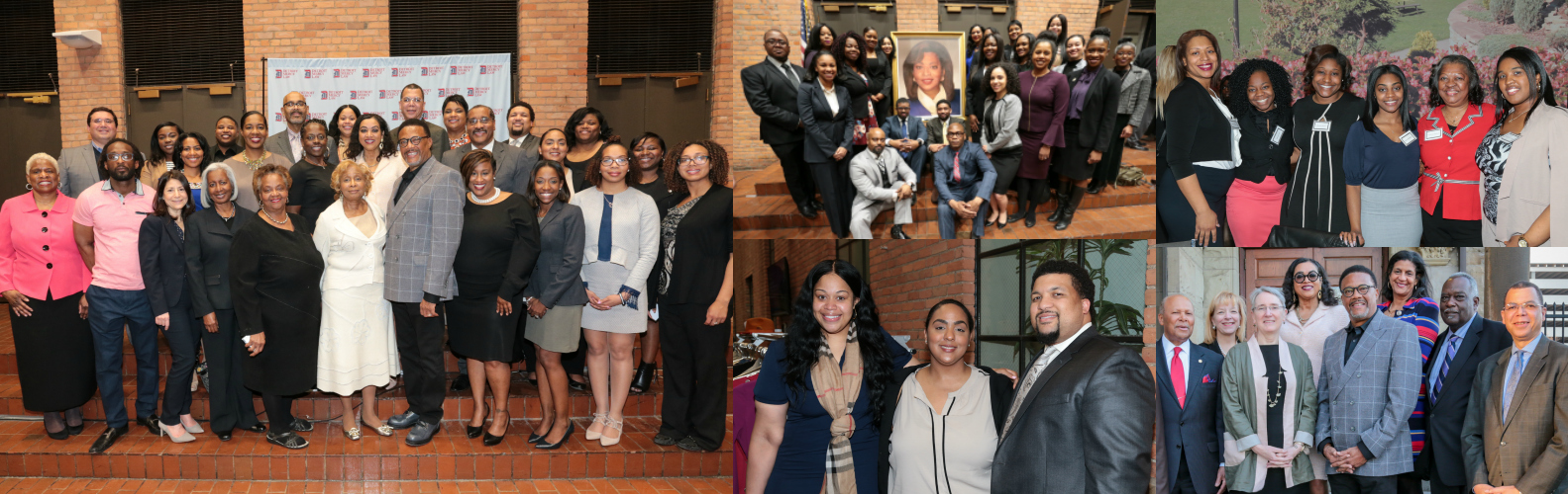 Group photos from black alumni events