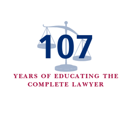 107 years of educating the complete lawyer